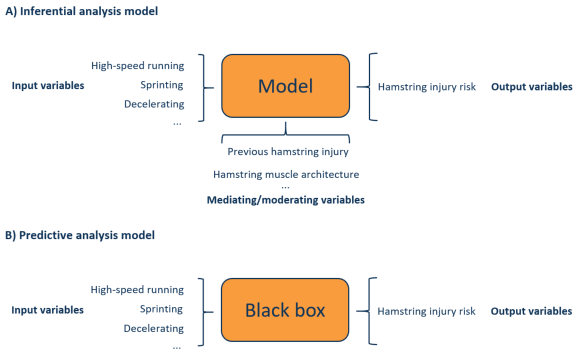 Inferential analysis model and predictive analysis model topsportslab